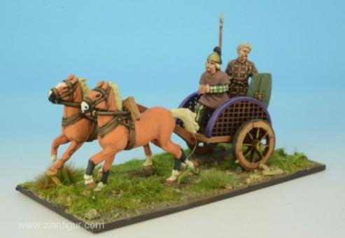 Keltische Krieger in Streitwagen 2