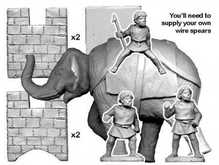 Numidischer Kriegselefant