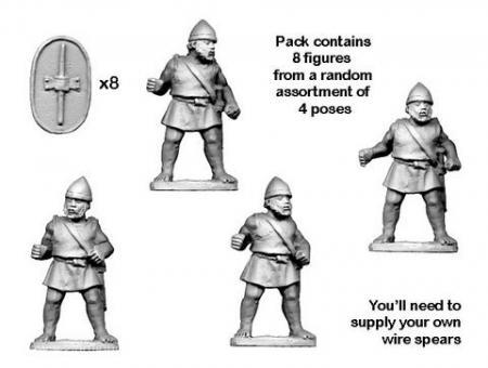 Numidische ausgebildete Infanterie