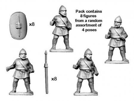 Numidische Imitation-Legionäre