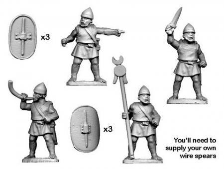 Numidische Legions/ausgebildete Kommandofiguren