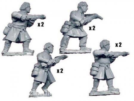 Spanische Armbrustschützen - ungepanzerte