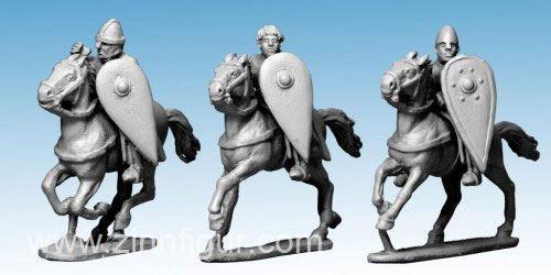 Ungepanzerte Normannische Kavallerie mit Speeren