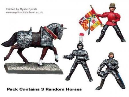 Men-at-Arms Kommandofiguren zu Pferd