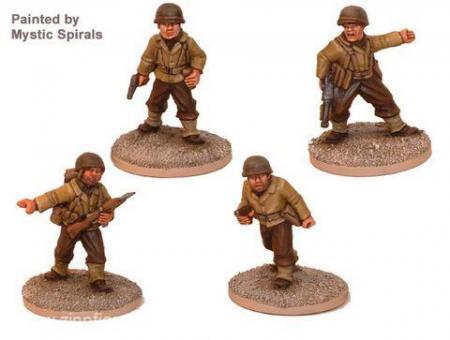 US Infanteristen Kommandofiguren