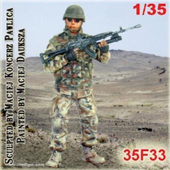 Soldat mit Granatwerfer