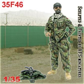 Soldat im Lager