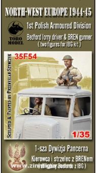 Bedford Fahrer und Brengun-Schütze