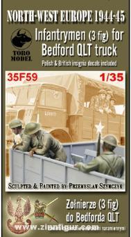 3 Infanteristen für Bedford QLT