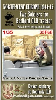 2 Britische Soldaten Für Bedford QLB
