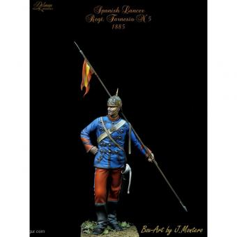 Spanischer Ulan - Regiment Farnesio 1885