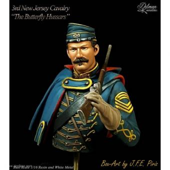 "Kavallerist - 3rd New Jersey Cavalry ""Butterfly Hussars"""