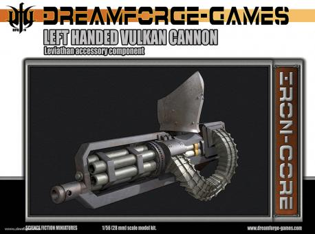 Leviathan Vulkcan Cannon für Linke Hand