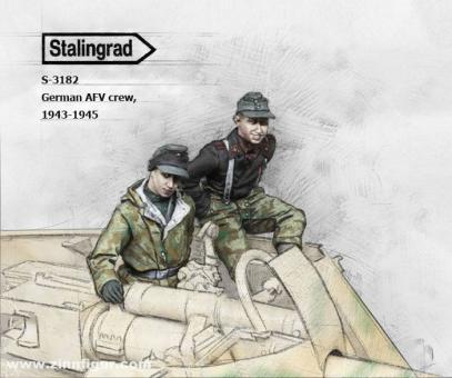Deutsche Panzerfahrzeug-Soldaten - 1943-45