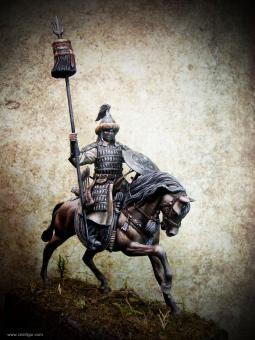 Mongolischer Krieger zu Pferd