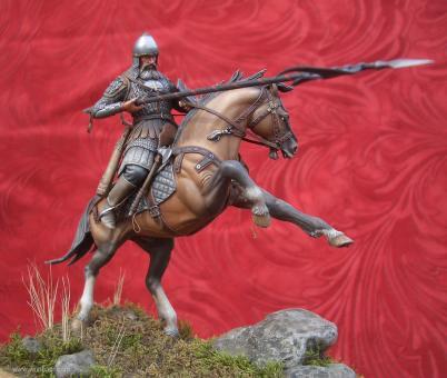 Russischer Krieger zu Pferd - 14. Jh
