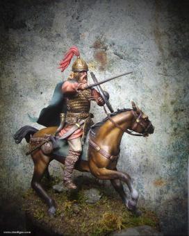 Germanischer Krieger zu Pferd