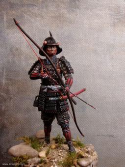 Samurai Bogenschütze
