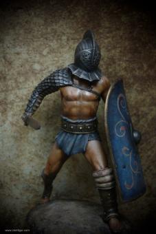 Römischer Gladiator Secutor