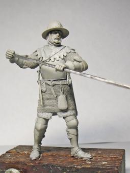 Medieval Infantryman - 14th Century