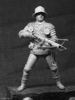 Schweizer Armbrustschütze - 15. Jh.