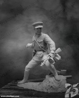 Sowjetischer Senior-Leutnant - 2. Weltkrieg