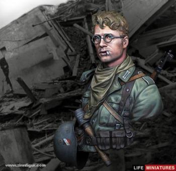 Soldat bei Stalingrad