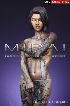 Mirai - Humanoide Cyborg Attentäterin - 2074