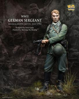 German Sergeant - Heeresgruppe Mitte July 1941