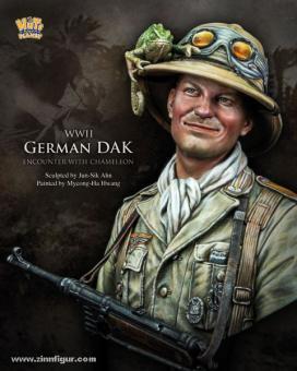 German DAK Soldier with Chameleon