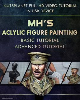 MH's Acrylic Figure Painting Tutorial - Full Set