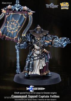 Captain Vellious - Command Squad