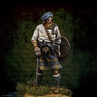 Schottischer Clansman bei Culloden