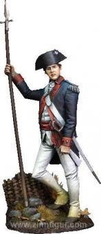 Offizier der Kontinentalarmee - 1779