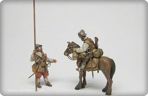 Pikenier und Dragoner - 30-jähriger Krieg