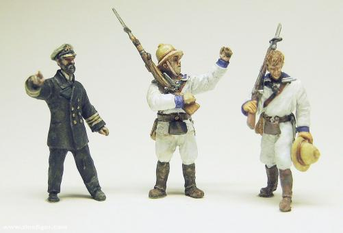 """Kaiserliche Marineinfanterie 1 """"The Germans to the Front"""""""