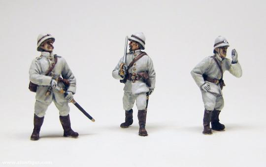 """Kaiserliche Marineinfanterie 3 """"The Germans to the Front"""""""