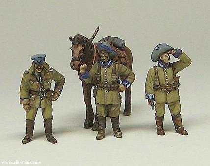 Soldaten der Schutztruppe Deutsch-Südwestafrika - 1908
