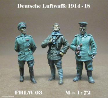 GErman Pilots and Ground Crew 1914-18