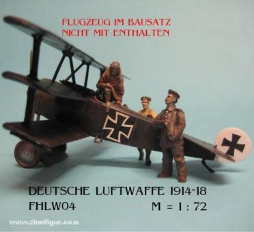 Pilot und Bodenpersonal - Deutsche Luftwaffe 1914-18