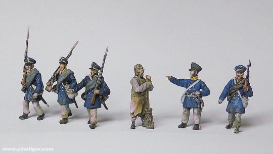Preußische Landwehr Infanterie - Set 1