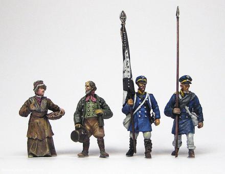 Preußische Landwehr Infanterie - Set 2