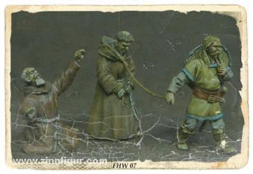Wikinger mit Gefangenem