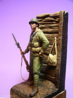 Marineinfanterist bei Caporetto