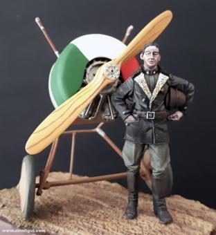 Fliegerass Pilot Sergeant Marziale Cerutti