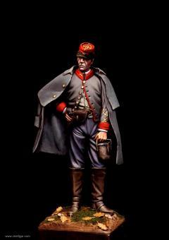 Konföderierter Artillerie-Offizier