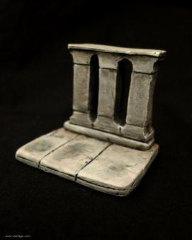 Marmor-Balustrade