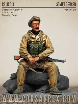 Sowjetischer Offizier - Afghanistankrieg