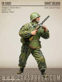 Sowjetischer Sturmtruppen-Soldat