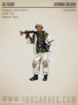Deutscher Soldat im Winter